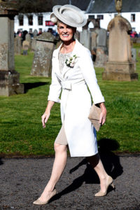 Judy Murray at Andy's wedding