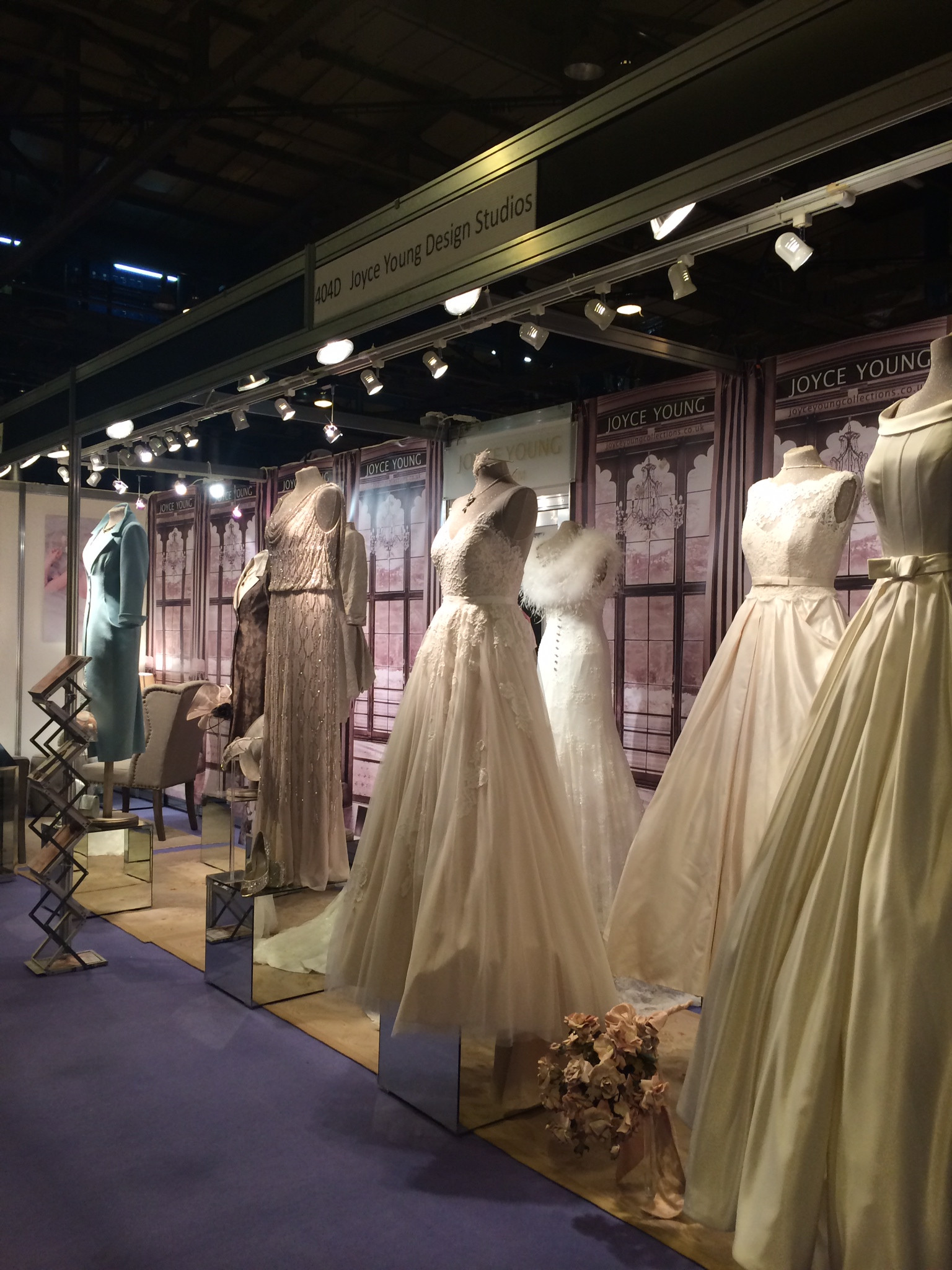 Design An Exhibition Stand : Joyce young design studios stand d the scottish wedding